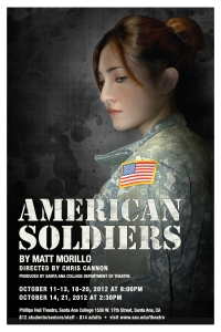 """""""American Soldiers poster"""""""